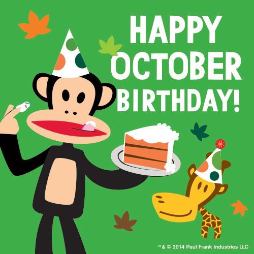 Image result for happy october birthday