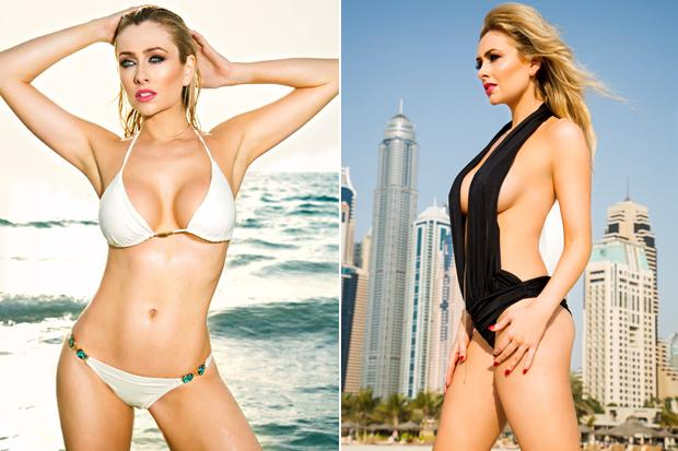 RT @Daily_Star: Too hot for #Hollyoaks! Soap babe @gemmamerna SIZZLES in her 2015 calendar http://t.co/obgJ193lNN http://t.co/6RMorHkdLY