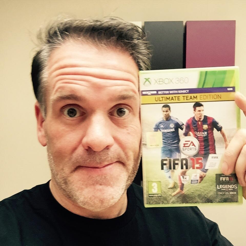 Hey @ollyofficial, prepare yourself for an asskicking.. #FIFA15 http://t.co/jvhujnjjhL