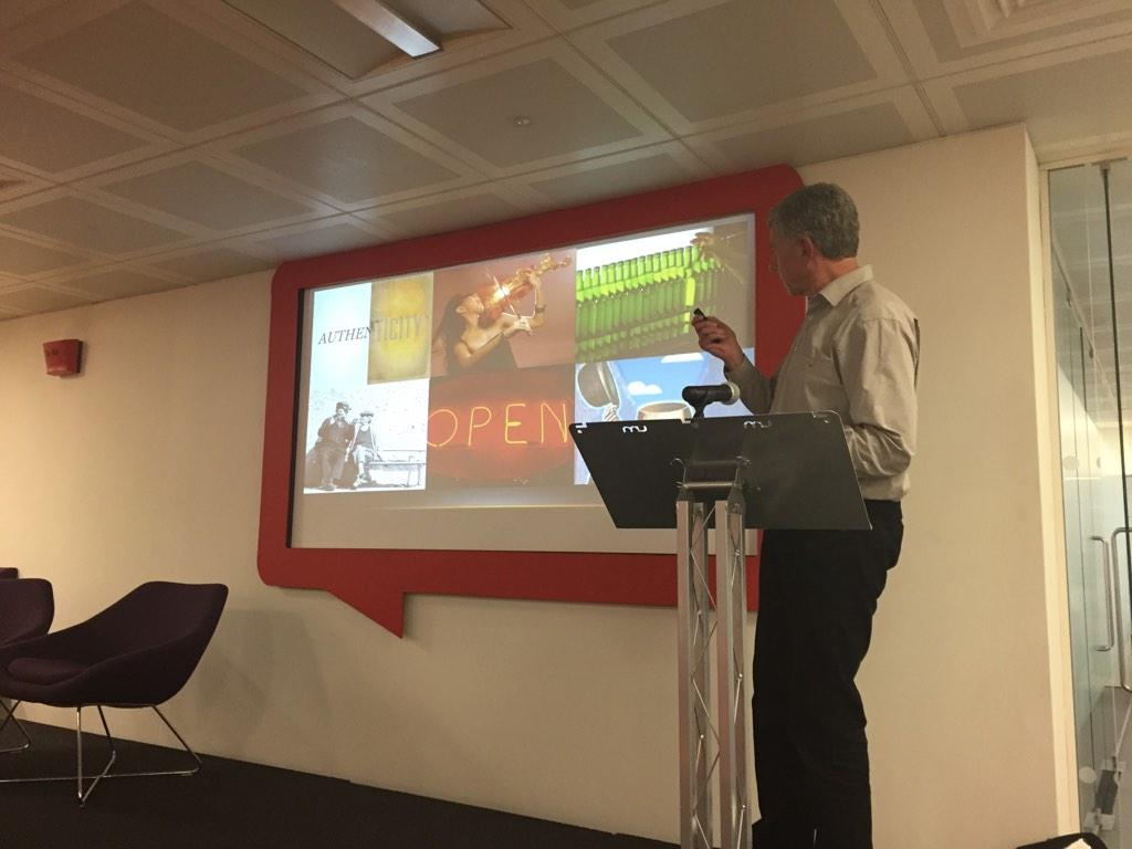 "RT @Paul_Framp: @crimsontwit sharing his wisdom with @HavasMediaUK on why this is the ""era of relationships"" & ""authenticity"" http://t.co/h…"