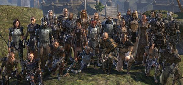"The Elder Scrolls Online on Twitter: ""German #ESO guild Das Netz ..."