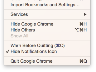 Chrome on Mac User? Hate that extra menubar icon? Just discovered this… http://t.co/PKJsSfiAZX