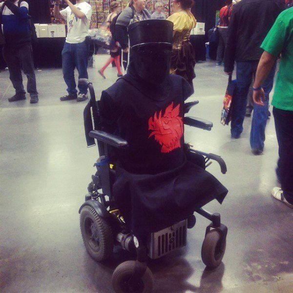 Best Monty Python cosplay costume EVER! http://t.co/2rqC72y2ce