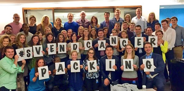 #SvendCancerPacking @FollowSven You can do it! Stay strong - we're all rooting for you!! #LoveWhereYouWork http://t.co/wpjoUGTq7y