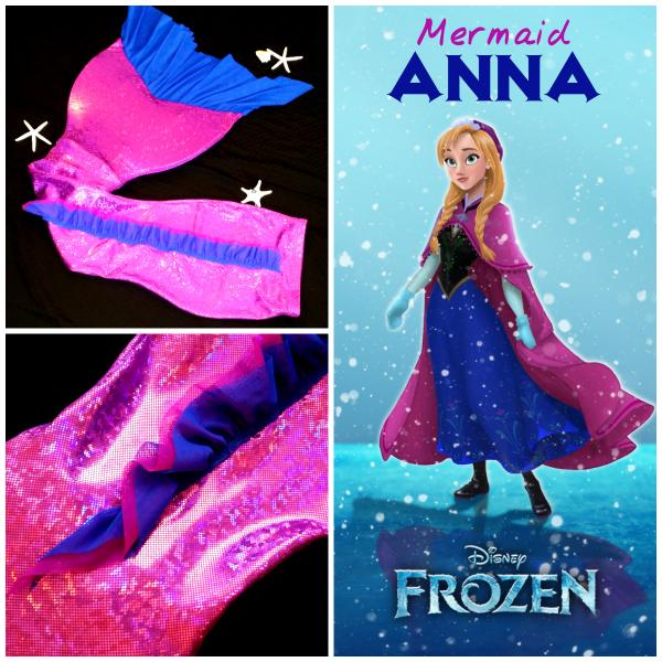 Miami Beach Mermaids On Twitter Check Out Our New Mermaid Anna Tail Inspired By Disney S Movie Frozen Http T Co I4jd9bjwds
