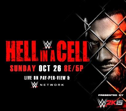 WWE Hell in a Cell 2014 Posters