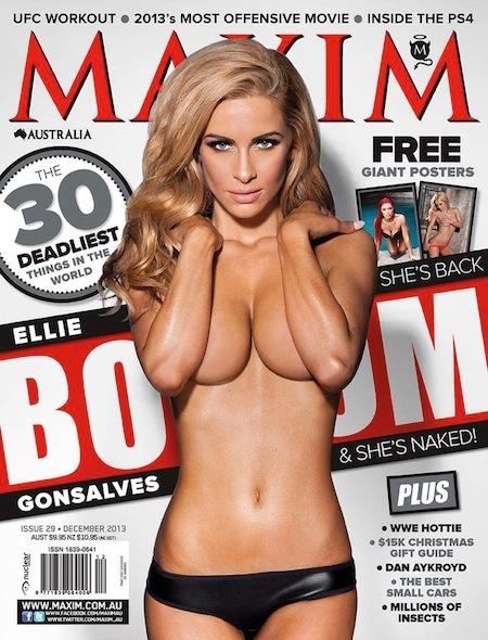 RT @WaallE1: BOOM! Just call her Ellie Incredible! #WCW @EllieGonsalves @HeymanHustle Model of the Year! @maxim_aus http://t.co/jOKiAPV1ma