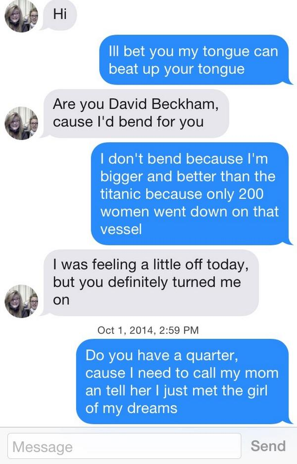 Modern pick up lines