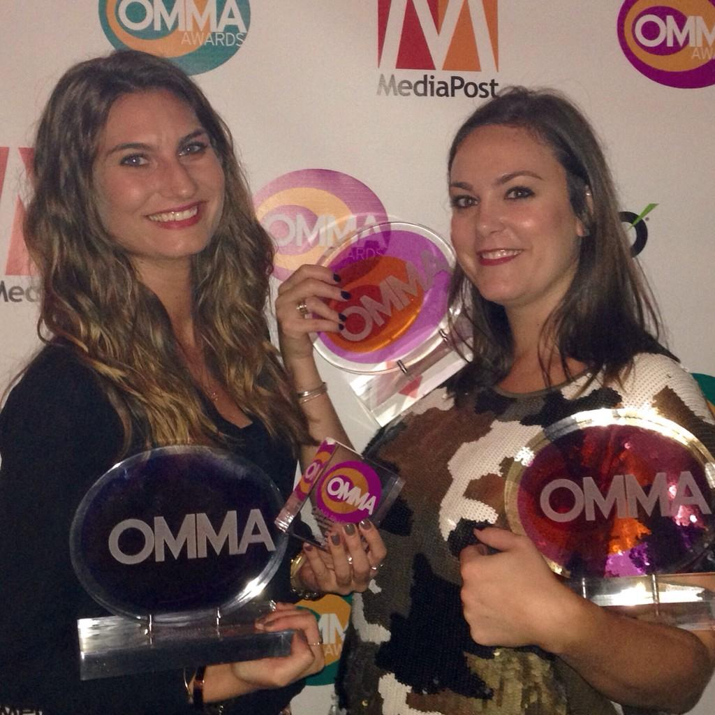 OMMA...oh yes! We scored tonight at the #ommaawards. Congrats to the @Walgreens, @PepsiMAX and @nakedjuice teams! http://t.co/lPhUNQN63G