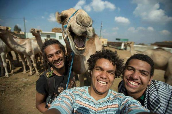 BEST.SELFIE.EVER. MT @sheeraf: If you only ever see one camel selfie, it should be this: http://t.co/7IIewzkTio
