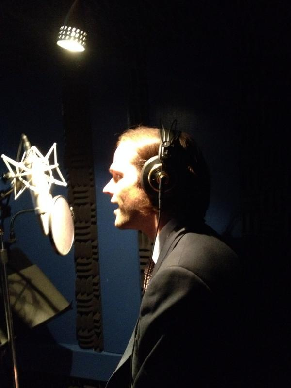 I was a little concerned maybe I'd need a cowbell, but @jarpad can actually sing! http://t.co/ji62WtB1BX