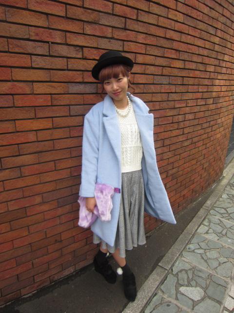 ... 新入荷】チェスターコート¥6372 パステルカラーがかわいいトレンドのコート です!クラシカルスタイルにぴったりです^^http://www.wegoblog.jp/wego-sapporo あー ...