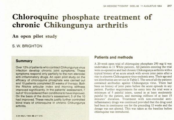 """""""@carvicab: @azureuma1 Reportes desde 1984 sobre la artritis del Chikungunya  http://t.co/Hu5zaxtBNV http://t.co/egL7pQxll6"""""""