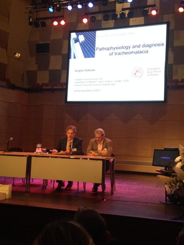 #inoea prima relazione su tracheomalacia, dr Barbato di Padova http://t.co/jPvc37FR8H