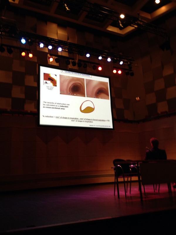 La sévérité de la tracheomalacie peut être calculée par le diamètre de l'obstruction de la trachée #inoea http://t.co/Ck8TRGiMPR