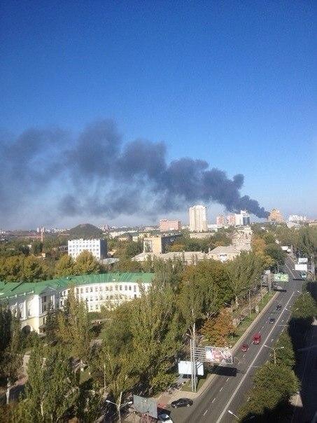 Террористы начали очередной штурм аэропорта Донецка, - пресс-центр АТО - Цензор.НЕТ 1104