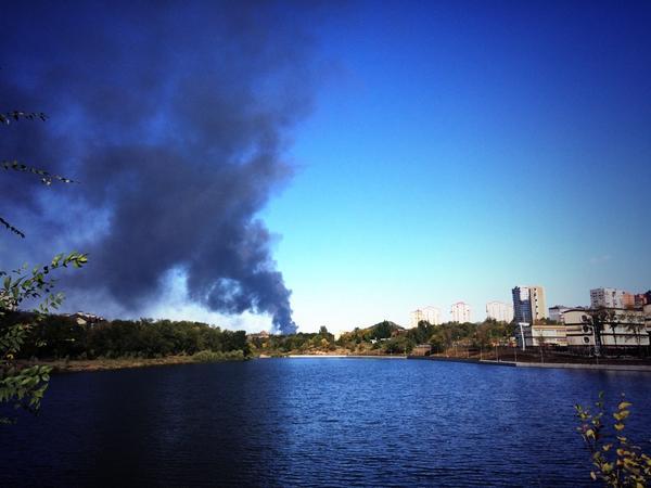 Террористы начали очередной штурм аэропорта Донецка, - пресс-центр АТО - Цензор.НЕТ 2246