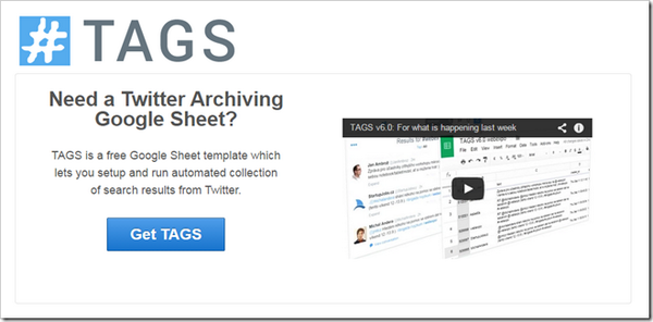 Need a better Twitter Archiving Google Sheet? TAGS v6.0 is here! http://t.co/21suMwTp3j http://t.co/81ejaB2VXn