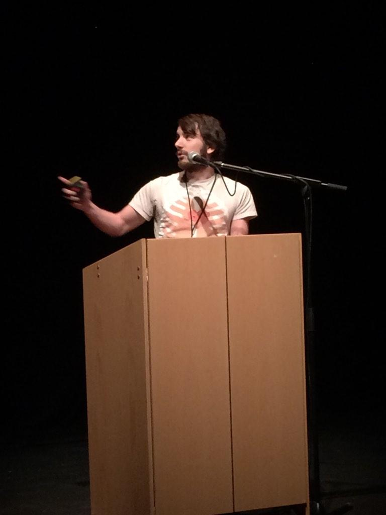 RT @flackboy: Graham from @ChunkGames our next speaker at #developlive Talking about responsive game design http://t.co/mPTEsCNX6o