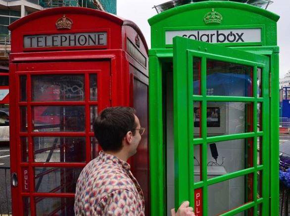 #London phone booths turn green as #mobilephone charging booths revealed reports @Independent http://t.co/jW004NTTCT http://t.co/2twLROyE80