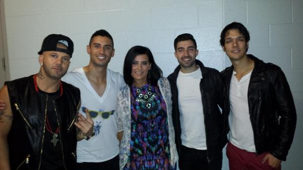 Hanging backstage @weday #Toronto with great friends @NellyFurtado @KARLWOLFs @DaRealSD @JRDNmusic #Someday http://t.co/itO48aqEov