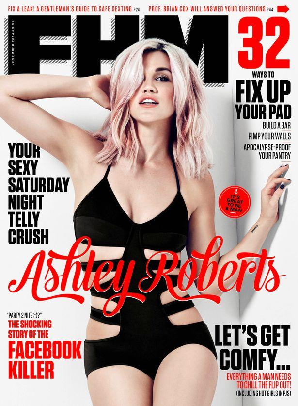 RT @ImAshleyRoberts: Ahhh! I'm the @FHM cover girl for November's issue! So happy. Pick up a copy and check out the interview. ARxo http://…