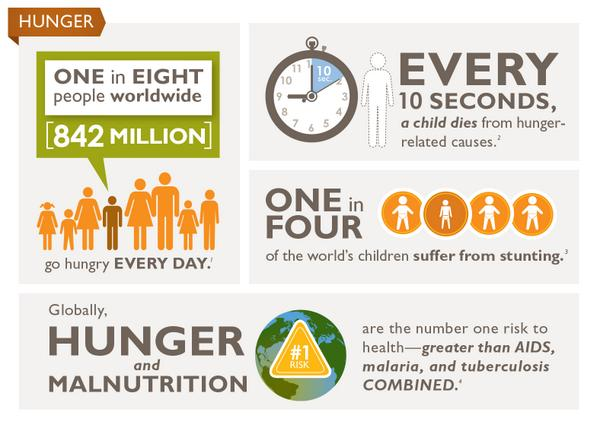 the growing issue of world hunger and the solutions to address the problem Hunger: a continuing problem hunger rates in she went on to found america harvest, which now has 1,303 programs around the world that have provided.