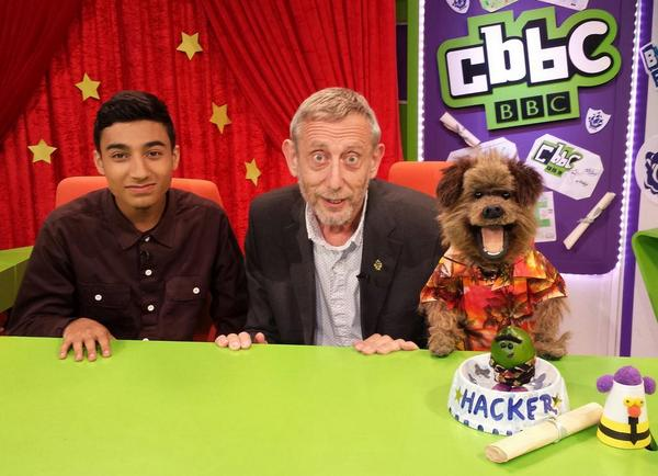 @MichaelRosenYes lovely to meet you cocker @kayzer_1 http://t.co/we29KB8So1