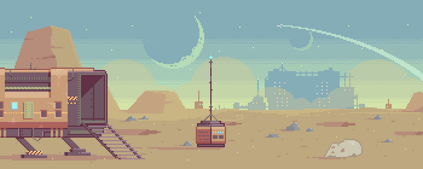 Sweet! RT @PixelArtSprites: RT @Arvydas_B It kinda has this Destiny vibe, don't you think? #Pixelart #MovieIndustry<br>http://pic.twitter.com/9MiT8qyZ3Y