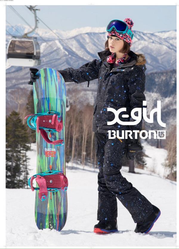 X-girl×BURTON 10/17(金)発売決定‼︎ http://t.co/dwM8pRoz4l