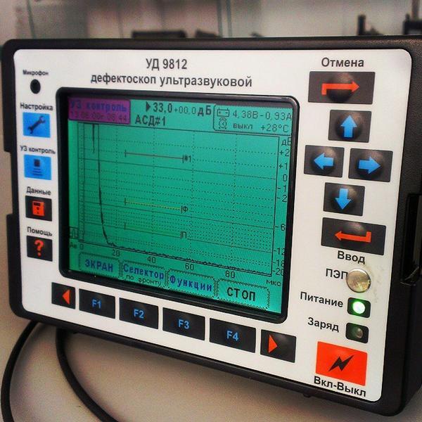 дефектоскоп ультразвуковой схемы