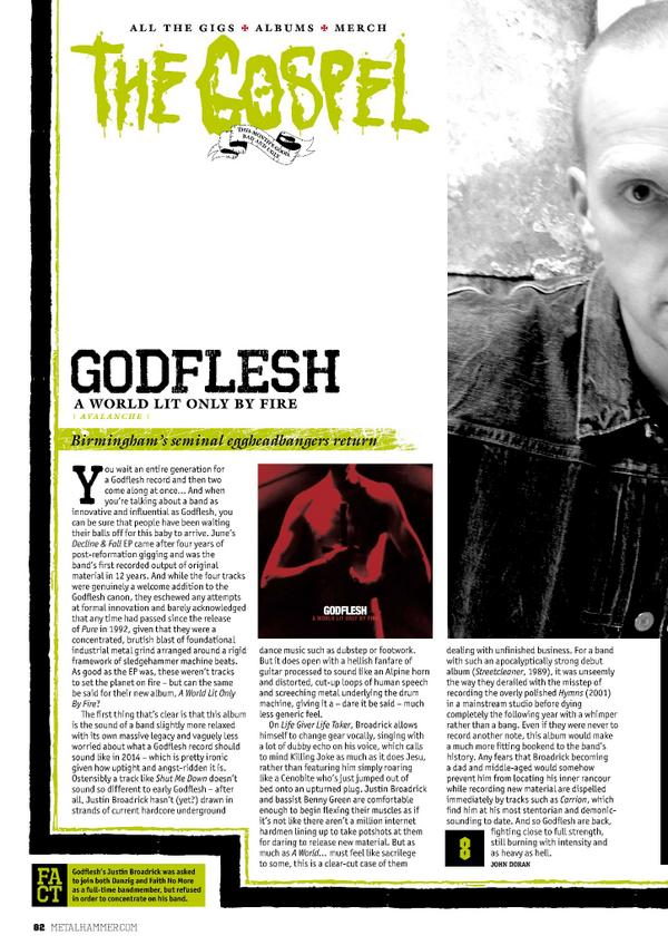 shellshock on twitter godflesh new album a world lit only by fire gets an 8 10 review in. Black Bedroom Furniture Sets. Home Design Ideas