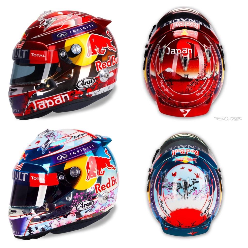 Sebastian Vettel Helmet 2014 Yoshimi on Twitter: &q...