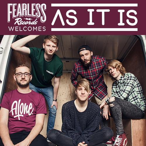 So my band @ASITISofficial are now signed to @FearlessRecords. Stoked for the future http://t.co/oo2ZpVbrf7