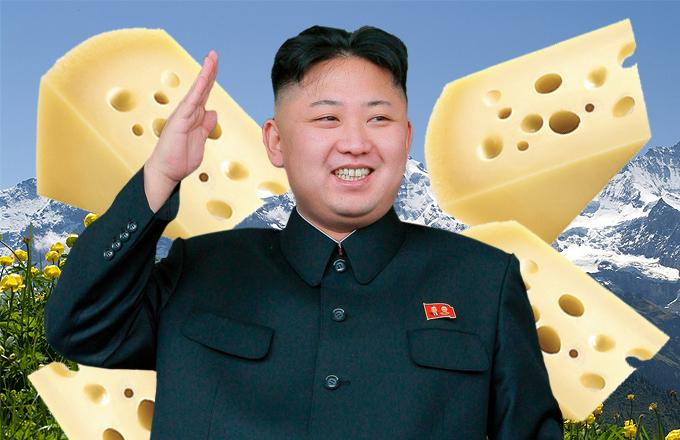 Kim Jong-Un Swiss Cheese