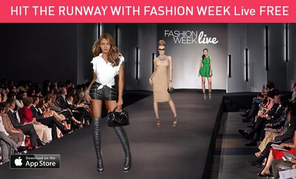 fashion week live fwlgame twitter