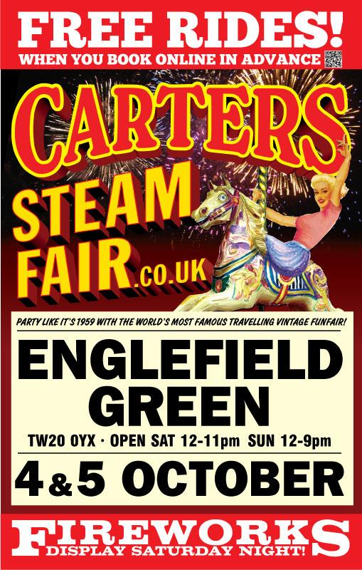 Carters Steam Fair On Twitter People Of Englefield Take A