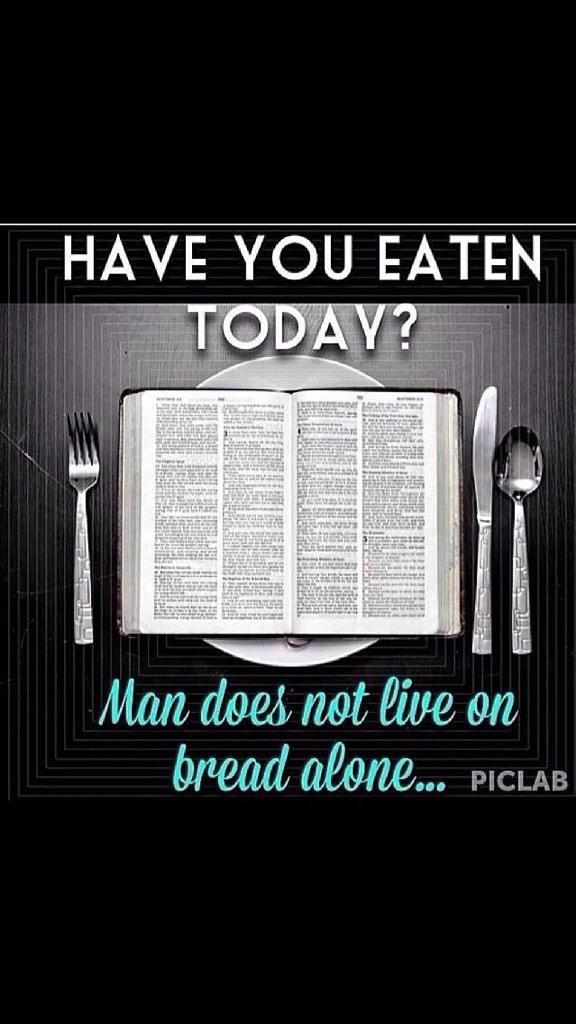 "The Word of God is food I need to stay spiritually strong."" http://t.co/jRCM7InnFI"