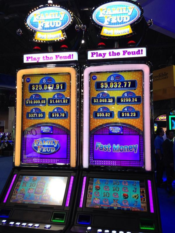 Ags On Twitter Check Out Our Family Feud Slot Machine At Booth 4453 G2e2014 Http T Co 1ib7auivvw