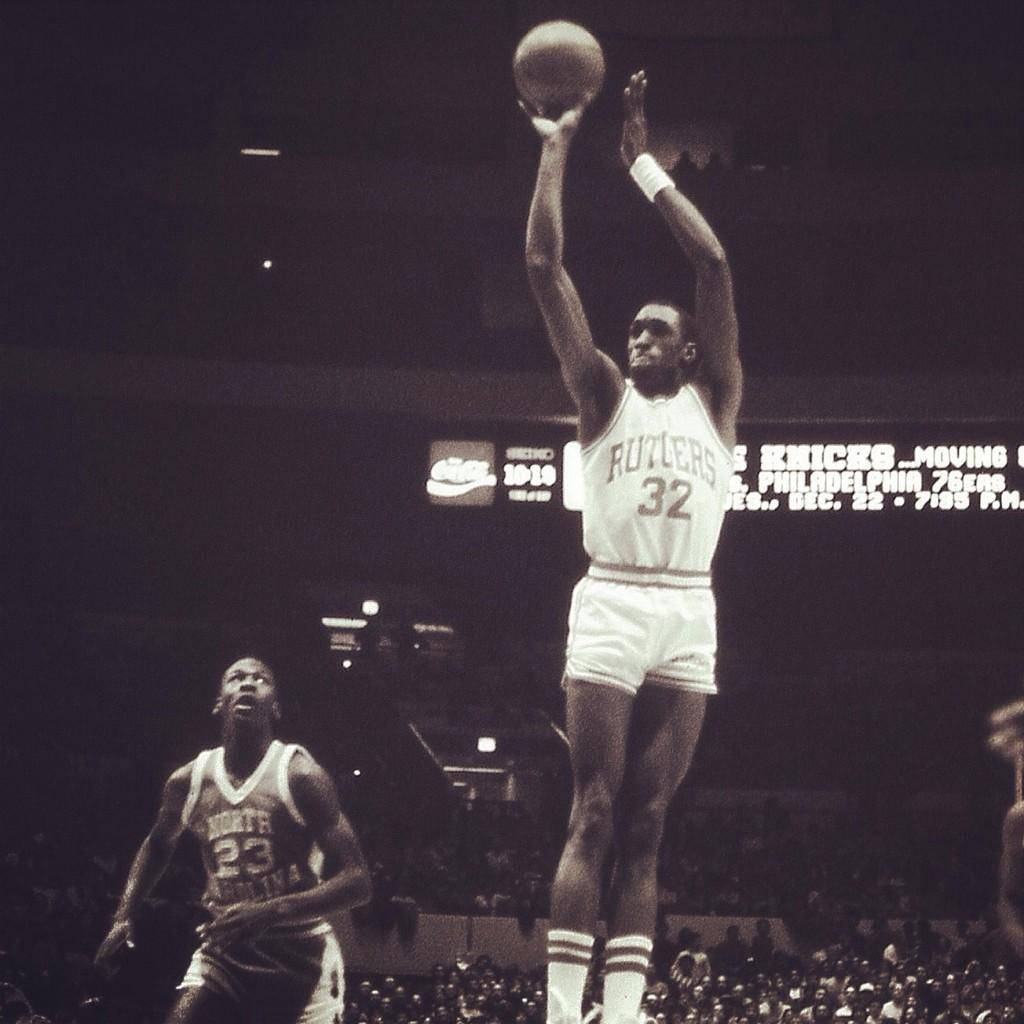 """Rutgers Basketball on Twitter """"Today s TBT is Roy Hinson who"""