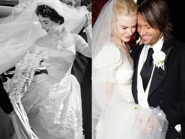 The 50 most beautiful wedding dresses of all time: http://t.co/QKzSBIMW6x http://t.co/9hDjlwrH7C