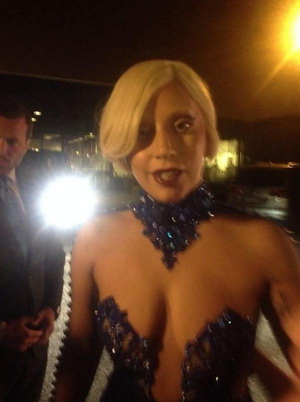 Lady gaga saggy tits