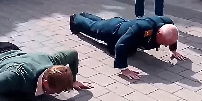 Never Challenge An Old Veteran To A Push Up Contest http://t.co/CgDTIXFHCk http://t.co/1m5YcCulWX