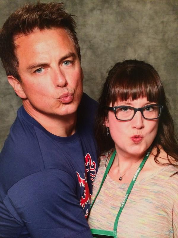 Yup - @Team_Barrowman is a class act all the way. Had the best time today, thanks again @SaskExpo! #YXEexpo http://t.co/Q5RfFi4Feg