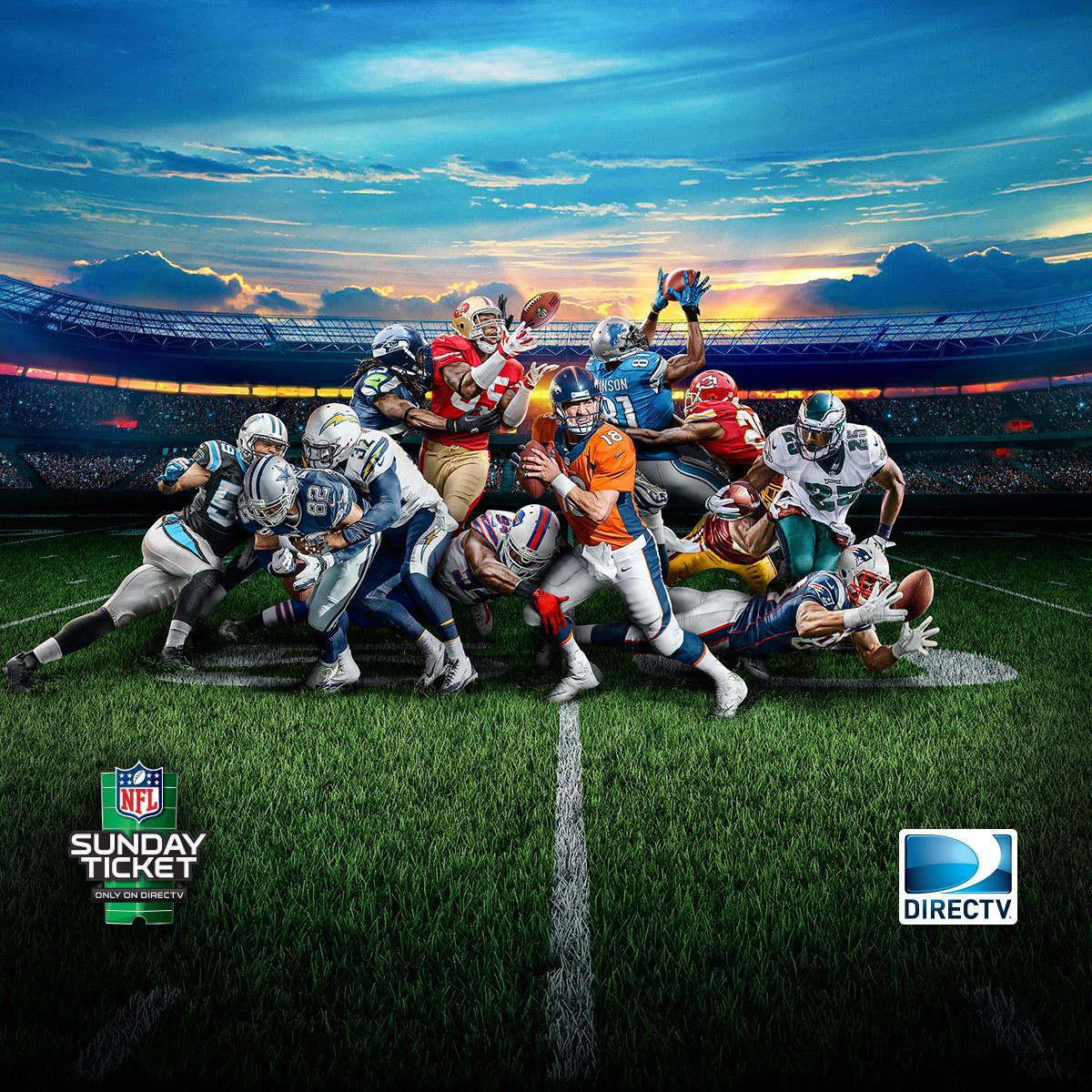 nfl on twitter watch every play on sundays with directv 2014 nfl sunday ticket 150 channels. Black Bedroom Furniture Sets. Home Design Ideas