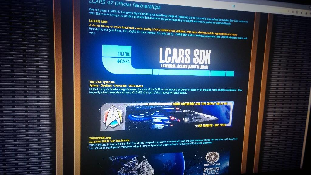 Lcars 47 Screensaver