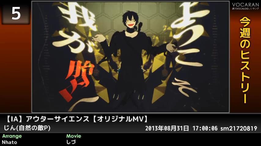 週刊VOCALOIDとUTAUランキング #362・304 [Vocaloid Weekly Ranking #362] ByB-1mSCQAAVYXj