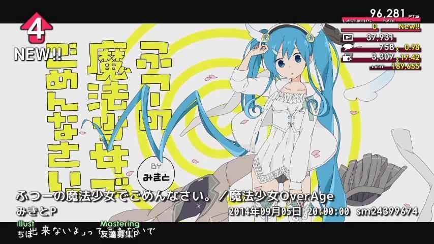 週刊VOCALOIDとUTAUランキング #362・304 [Vocaloid Weekly Ranking #362] ByB-X-YCMAEMCnO
