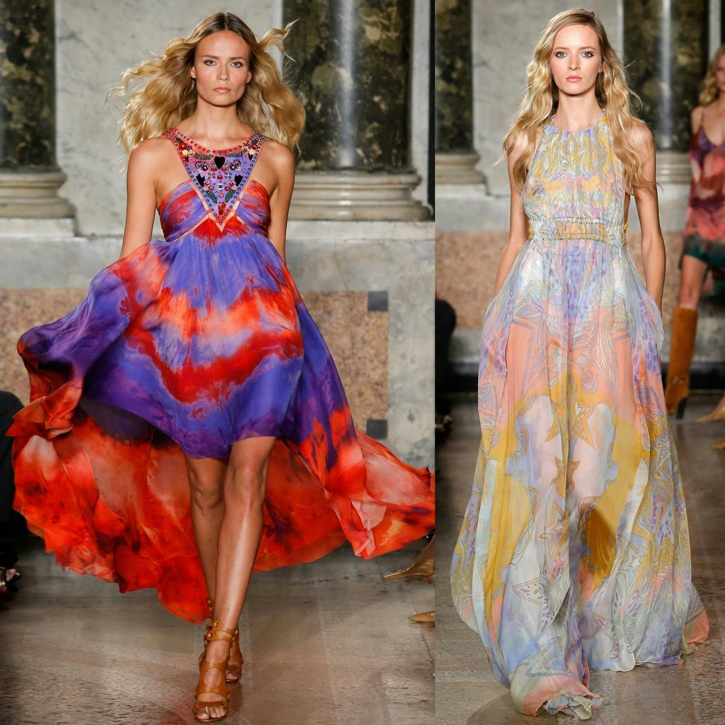 Gorgeous Dresses from the @EmilioPucci Spring 2015 Collection #MFW http://t.co/tOVPgGn5NO
