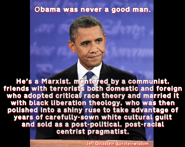 "Barack Obama: ""..friends with terrorists both domestic and foreign.."" http://t.co/Spvai07ZpS https://t.co/3ARWoR1td5"